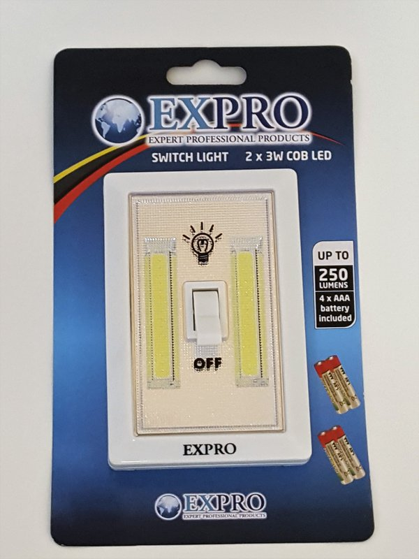 Expro Multiuse Light Switch - Thats Great